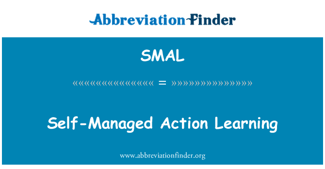 SMAL: Self-Managed Action Learning