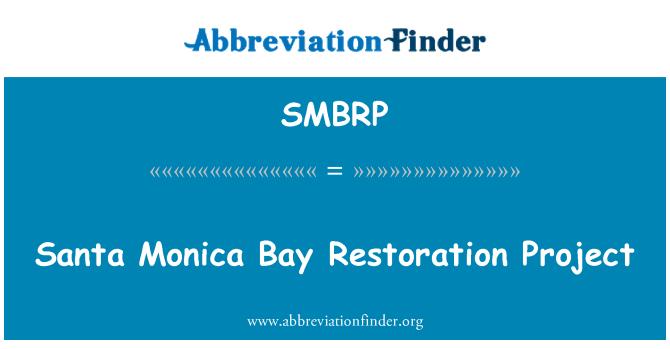 SMBRP: Santa Monica Bay Restoration Project