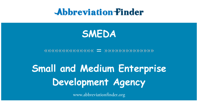 SMEDA: Agencia de desarrollo de pequeñas y medianas empresas
