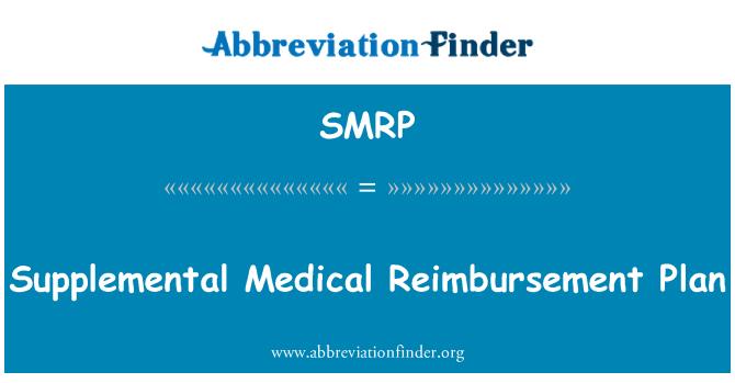 SMRP: Plan de reembolso médico suplementario