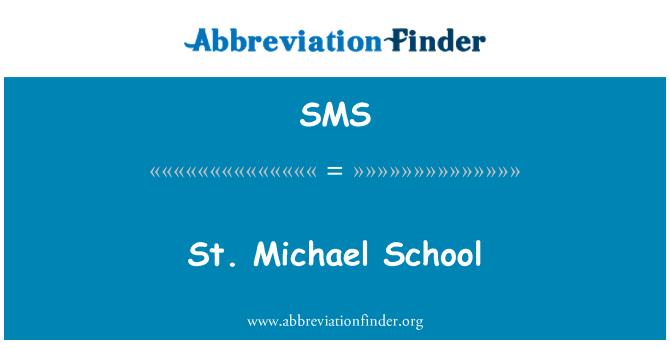 SMS: St. Michael School