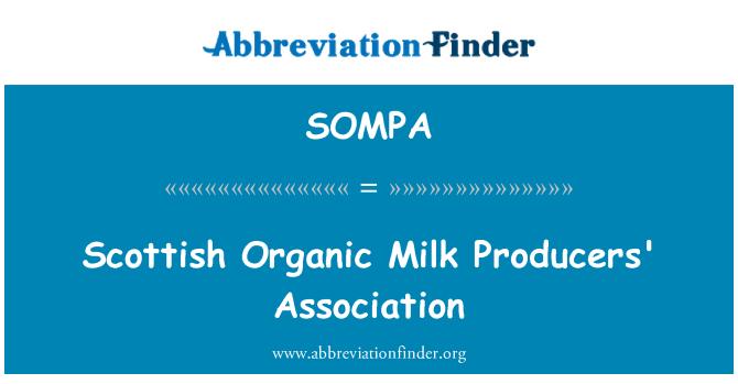 SOMPA: Scottish Organic Milk Producers' Association