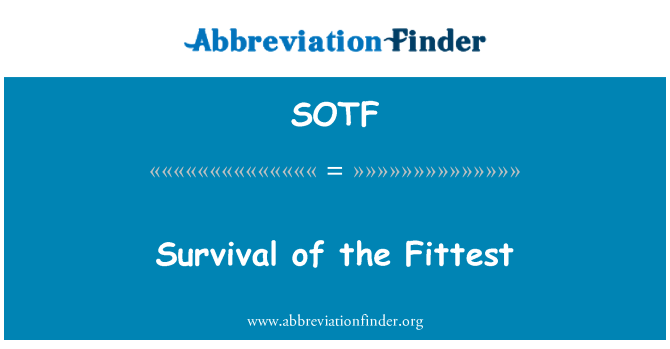 SOTF: Survival of the Fittest