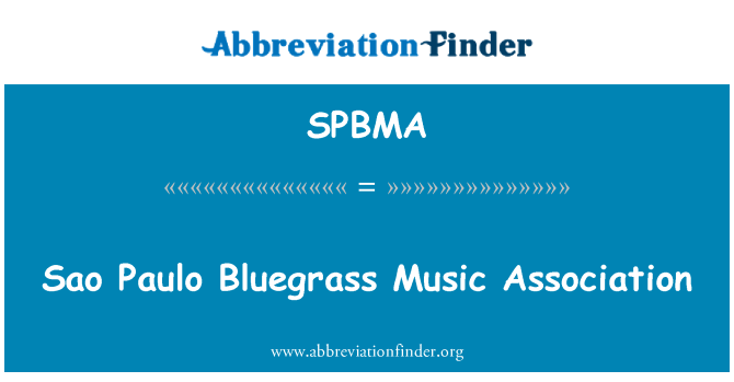 SPBMA: Sao Paulo Bluegrass Music Association