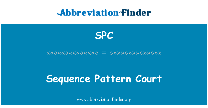 SPC: Sequence Pattern Court