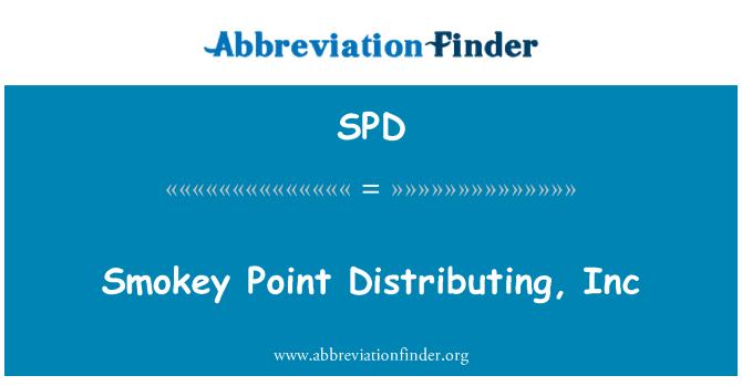 SPD: Smokey Point Distributing, Inc