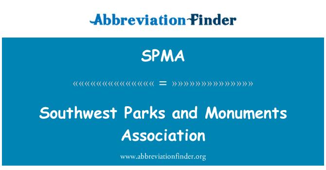 SPMA: Southwest parques y monumentos Asociación