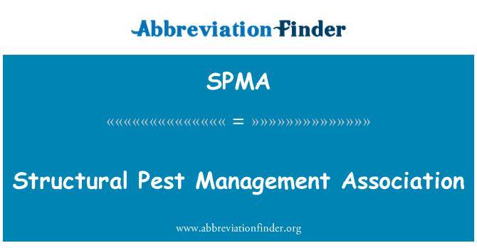 SPMA: Asociación de gestión de plagas estructurales