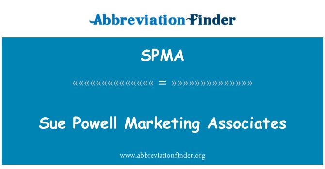 SPMA: Sue Powell Marketing asociados