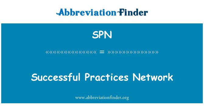 SPN: Successful Practices Network