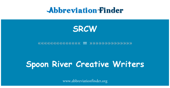 SRCW: Spoon River Creative Writers