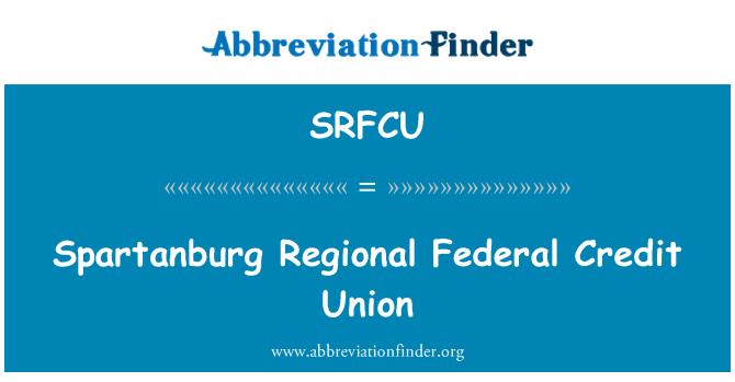 SRFCU: Spartanburg Regional Federal Credit Union