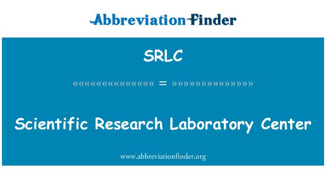 SRLC: Scientific Research Laboratory Center