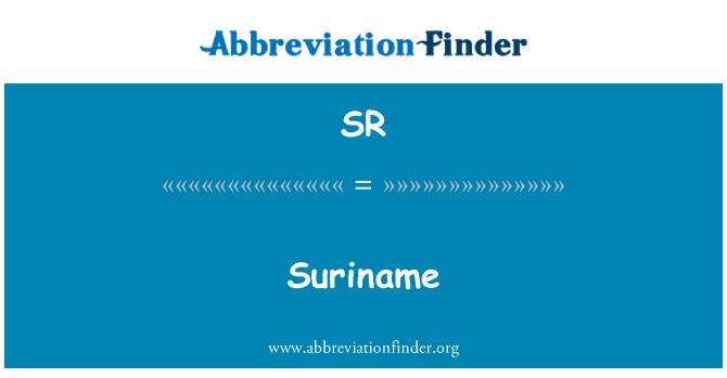 SR: Suriname