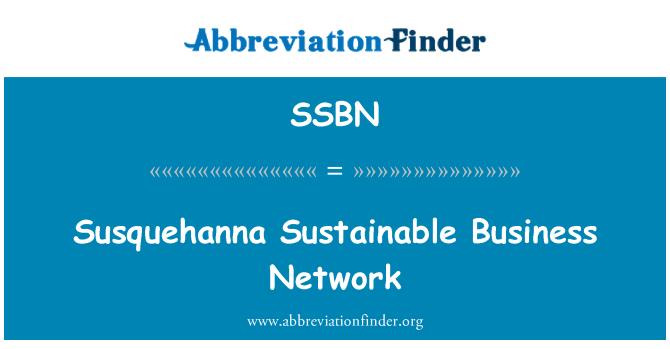 SSBN: Susquehanna Sustainable Business Network