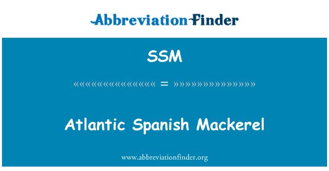 SSM: Caballa española