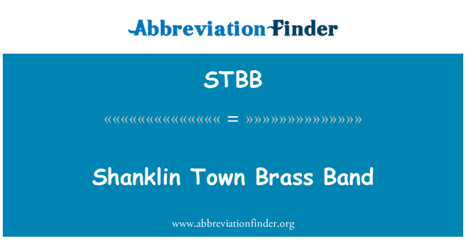 STBB: Shanklin Town Brass Band