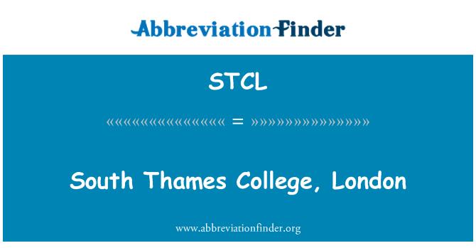 STCL: Colegio del sur de Támesis, Londres