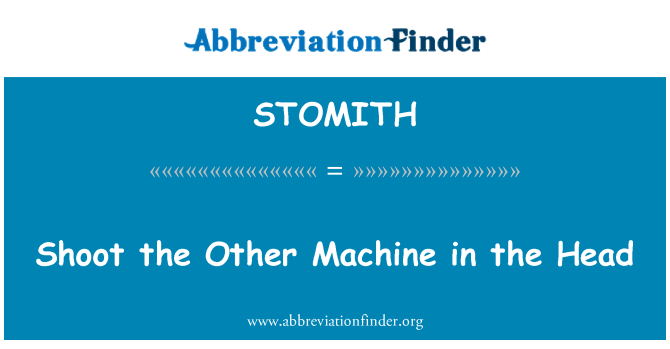 STOMITH: Shoot the Other Machine in the Head