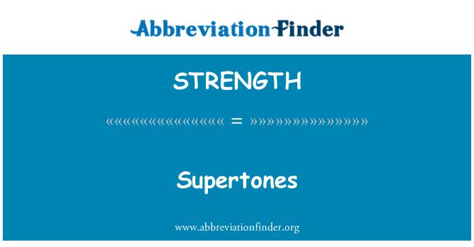 STRENGTH: Supertones