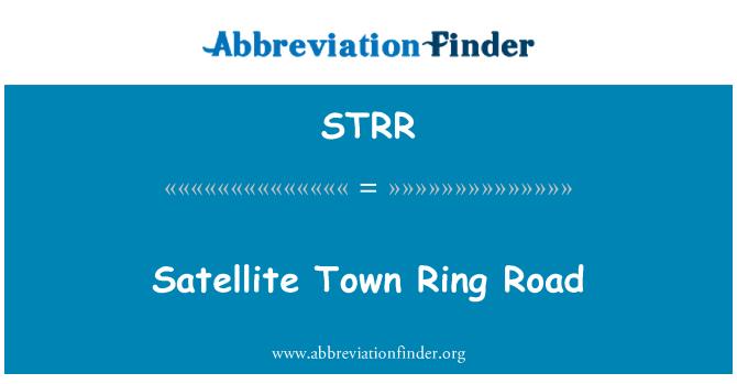 STRR: Satellite Town Ring Road