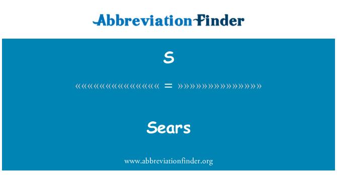 S: Sears