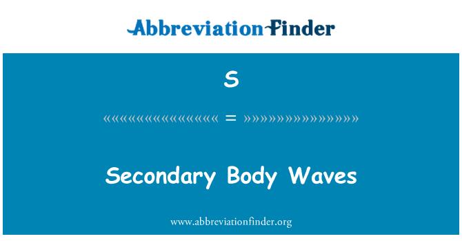 S: Lained sekundaarse keha