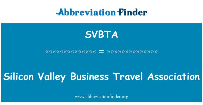 SVBTA: Silicon Valley Business Travel Association