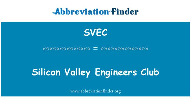 SVEC: Silicon Valley Engineers Club