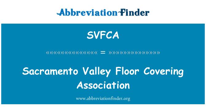 SVFCA: Sacramento Valley Floor Covering Association