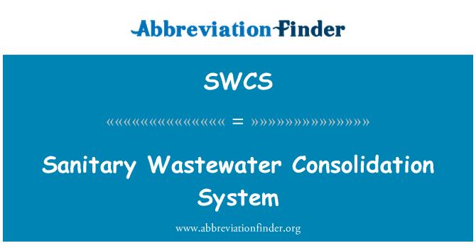 SWCS: Sıhhi atıksu birleştirme sistemi