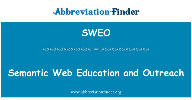 SWEO: Difusión y Educación de la Web semántica
