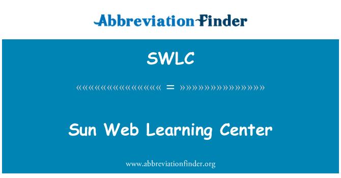 SWLC: Sun Web Learning Center