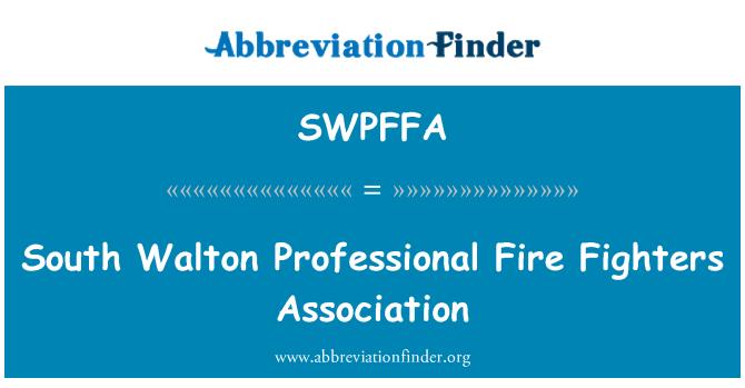 SWPFFA: South Walton Professional Fire Fighters Association