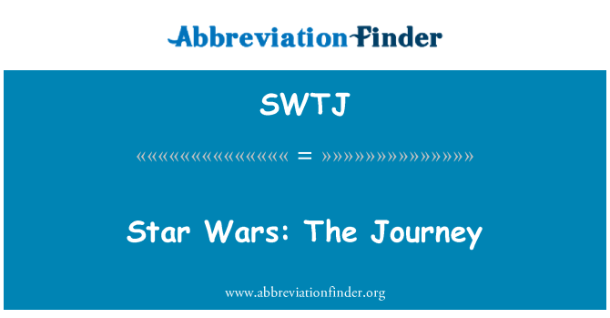 SWTJ: Star Wars: The Journey