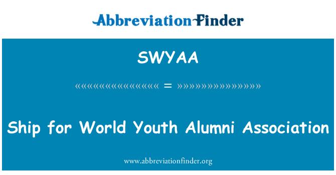 SWYAA: Ship for World Youth Alumni Association