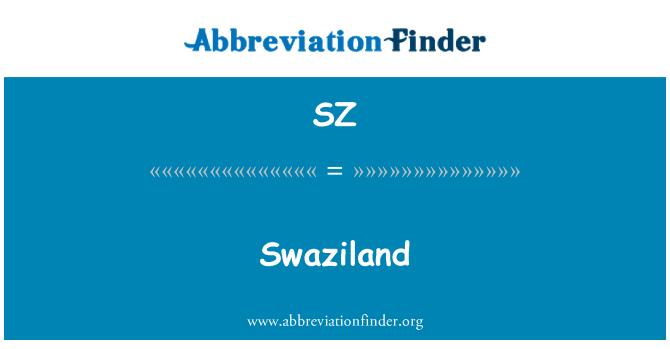SZ: Swaziland