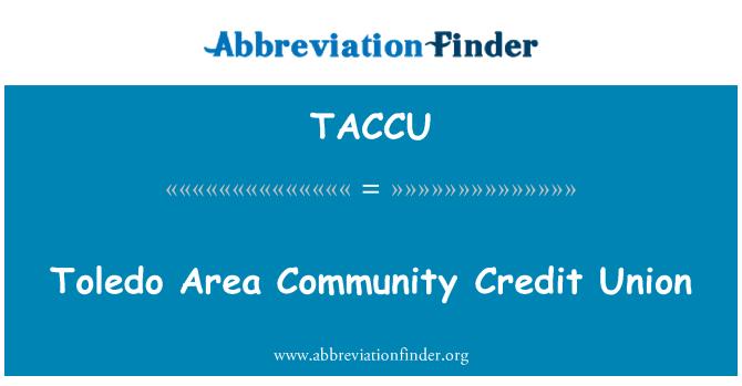 TACCU: Toledo Area Community Credit Union