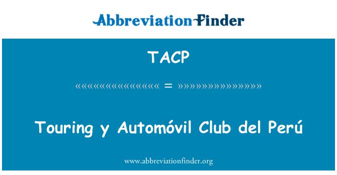 TACP: Touring y Automóvil Club del Perú