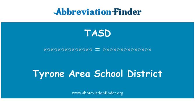 TASD: Tyrone alan okul bölgesi
