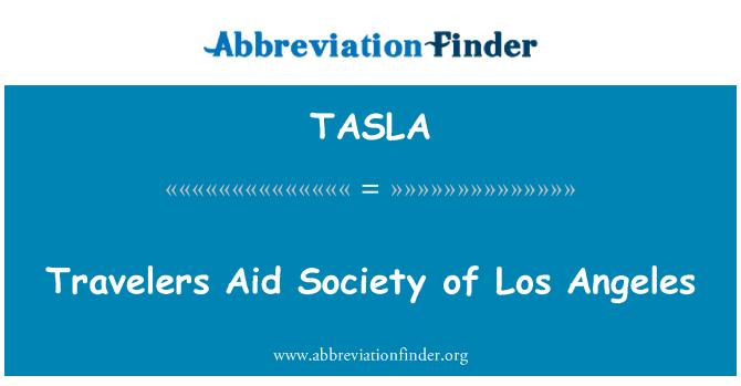 TASLA: Travelers Aid Society of Los Angeles