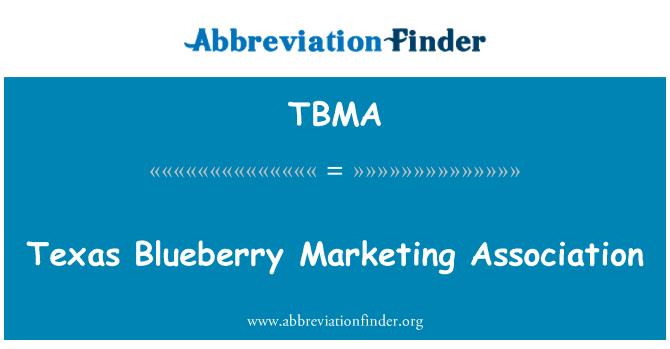 TBMA: Texas Solana Marketing assoċjazzjoni