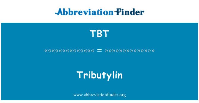 TBT: Tributylin