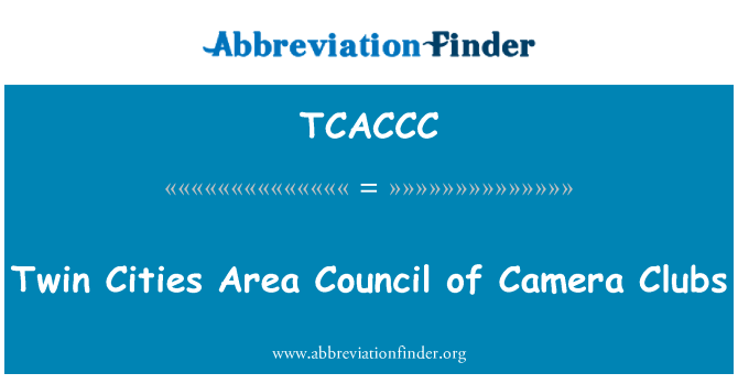 TCACCC: Twin Cities Area Council of Camera Clubs