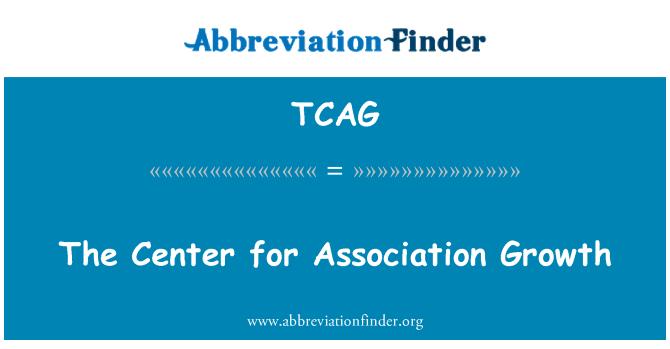 TCAG: The Center for Association Growth