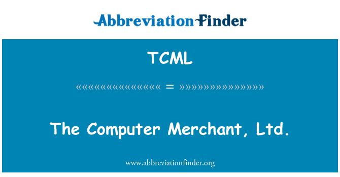 TCML: El comerciante de computación...