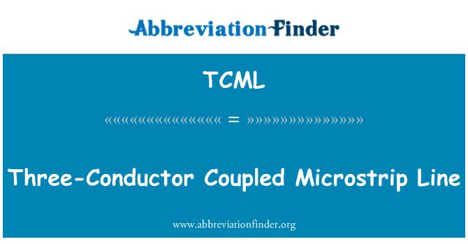 TCML: 三导体耦合微带线