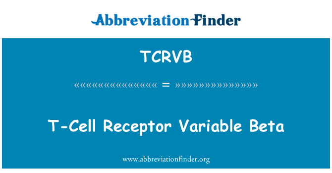 TCRVB: T-Cell Receptor Variable Beta