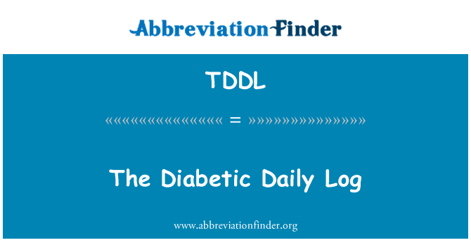 TDDL: The Diabetic Daily Log
