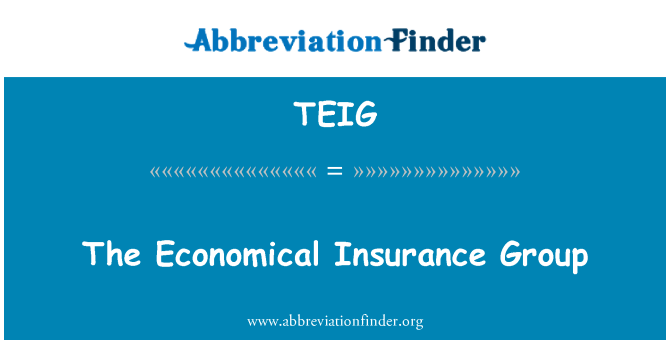 TEIG: The Economical Insurance Group